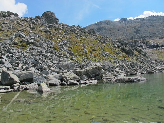 Sils im Engadin, Zwitserland: Le lac le plus haut (2646 m)