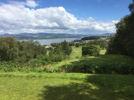 ‪‪Gourock Golf Club‬: 18th hole at Gourock GC‬
