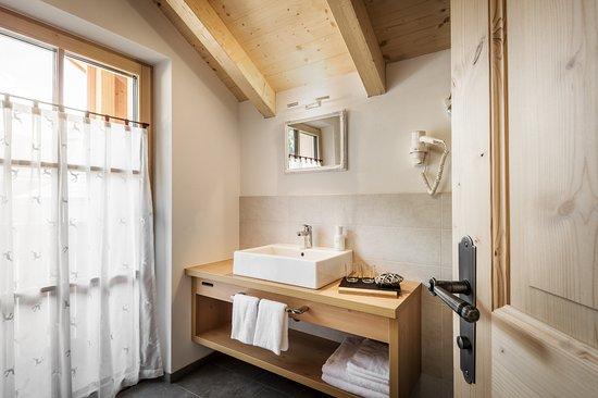 San Martino in Badia, İtalya: Bad Obergeschoss