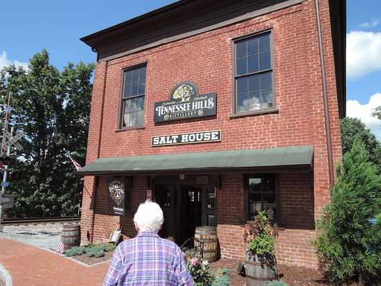 "Jonesborough, TN: 1800's building ""Salt House"""