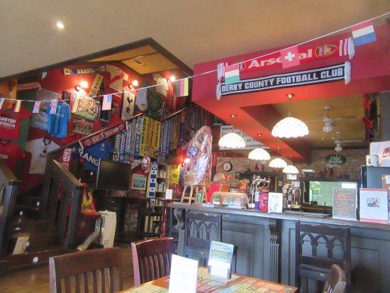 San Javier, Hiszpania: In the bar