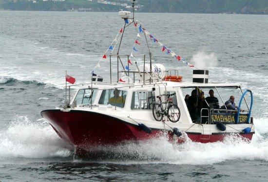 Fowey to Mevagissey Ferry: mevagissey ferry