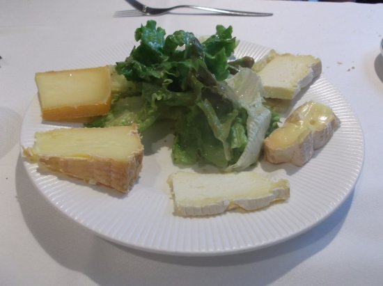 Ducey, Frankrike: Cheese course