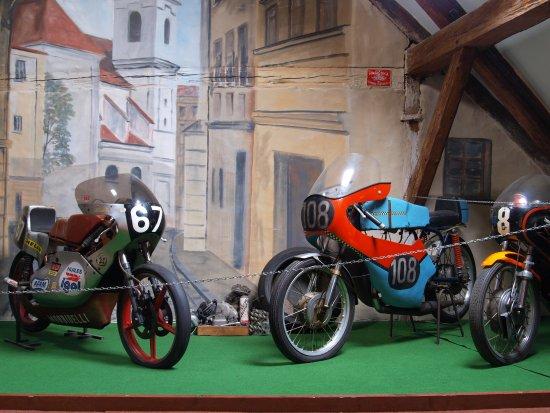 Museum of historical motorcycles Kašperské Hory