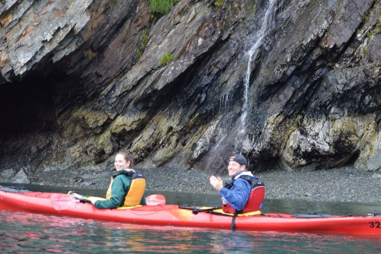 Seward, AK: Teens in kayak