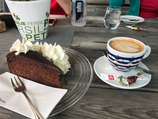 Coffee and cake at Happy Filzmoos