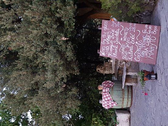 Zrnovo, Hırvatistan: Home made!! Geweldig lekker eten.