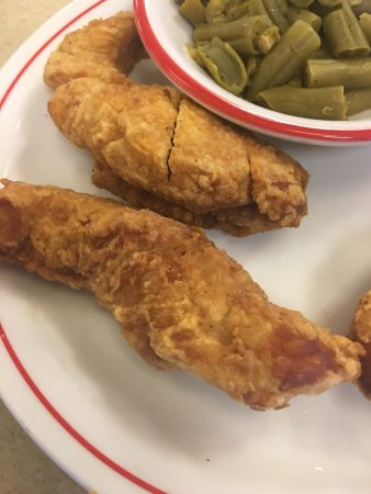 Frisch's Big Boy Restaurant: I was told by the manager these chicken strips look very similar. LOL