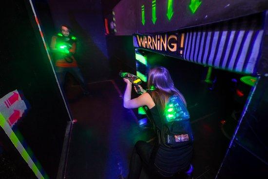 Laser District : Laser game