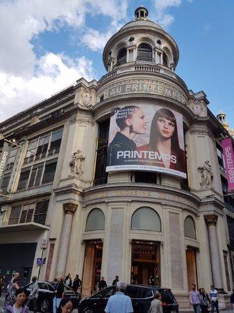 Hotels Near Printemps Department Store Paris