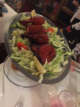 Meaux, Francia: Excellent poulet tandoori et en plat un butter chicken et un poulet sag un vrai délice