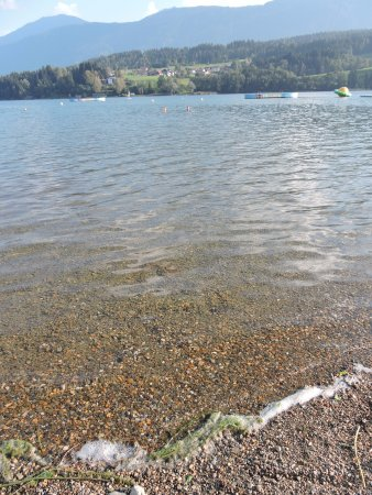 Hermagor, Austria: Dat is toch echt schoon water of niet