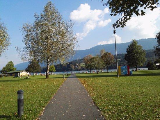 Hermagor, Austria: nog snel voor we gaan een foto