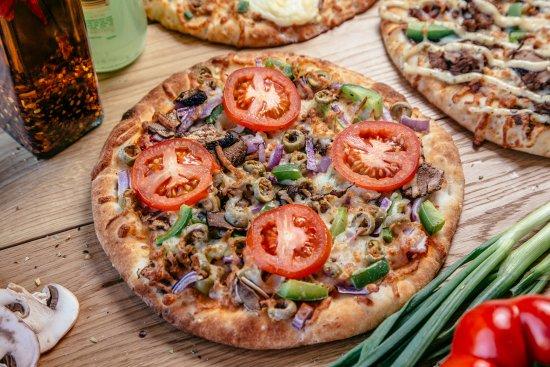 Tsawwassen, Canada: pizza