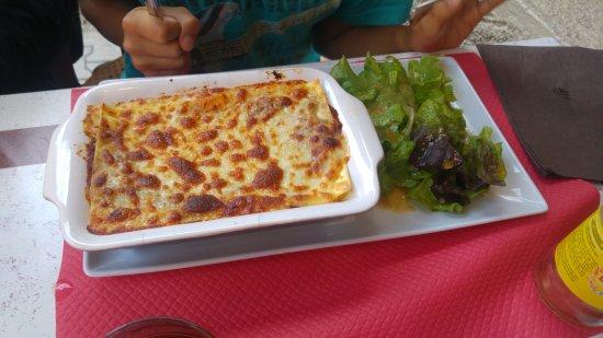 Montchavin, France: Lasagnes
