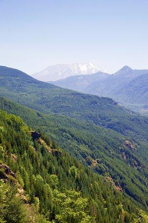 Castle Rock, WA: View towards Mt St Helens