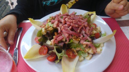 Montchavin, France: Salade