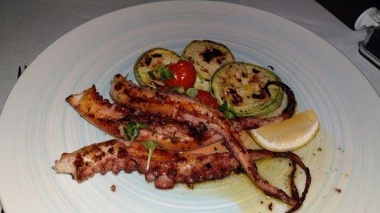 Kamenari, มอนเตเนโกร: octopus 22€