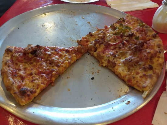Giovanni's Pizza : It was so good I forgot to take the picture before we dove in!