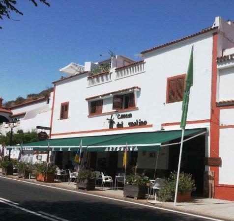 Artenara, Spain: Внешний вид ресторана