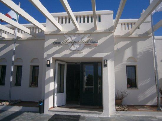 Naxos Imperial Resort & Spa: L'ingresso all'hotel!!!