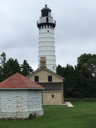 Baileys Harbor, WI: Cana Island Lighthouse