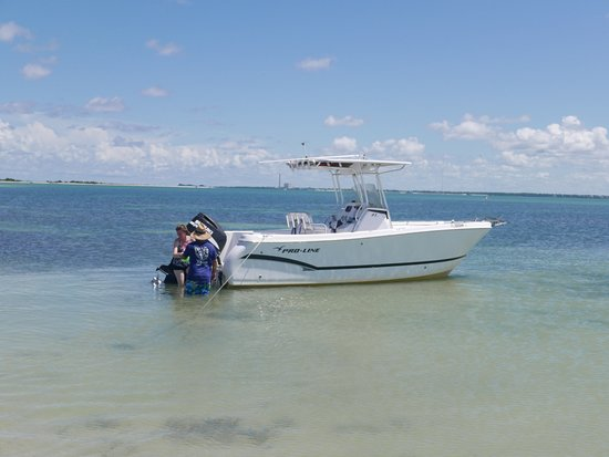 Private Island Charters: The boat