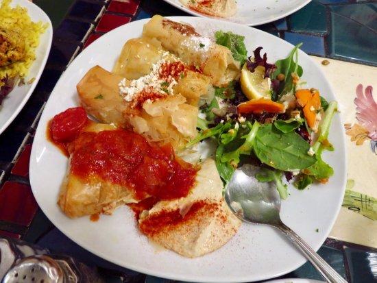 La Mediterranee: Dinner