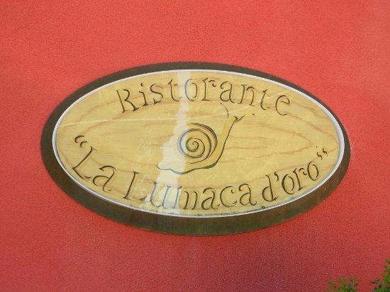Cantalupo, Italien: Insegna di ingresso