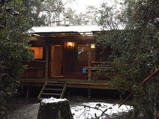 Remote wilderness in comfort