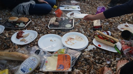 Whitstable, UK: Picnic time