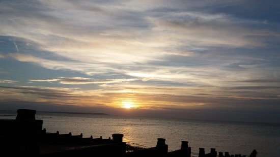 Whitstable, UK: Sunset at the Bay