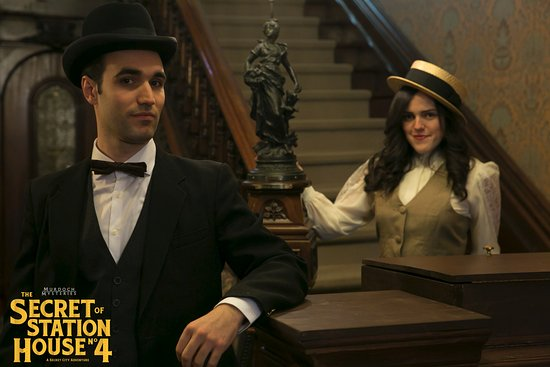Secret City Adventures: Murdoch Mysteries Escape Game