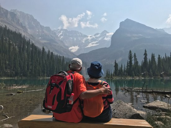 Lake O' Hara : My parents 69 and 71. They hiked the 11km in 3 hours. You could do it too!