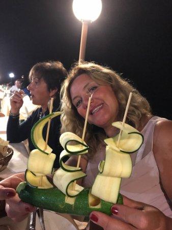 Santa Caterina di Pittinuri, Italy: Serata pirotecnica di agosto