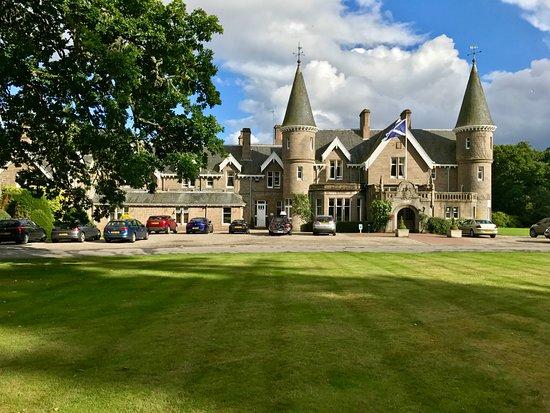 Stanley, UK: Hotel and Gardens