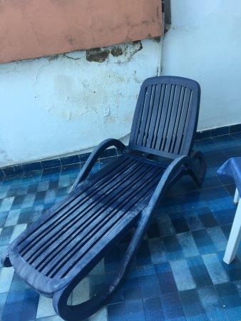 Sdraio terrazzo privato - Picture of Hotel San Paolo, Palinuro ...