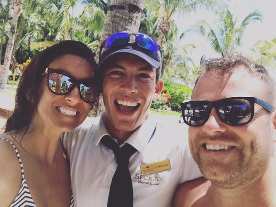 Secrets Maroma Beach Riviera Cancun: Carlos is amazing, so helpful and is sure to make sure you have a GREAT TIME!