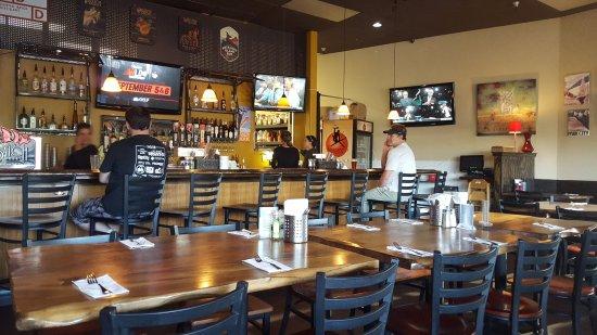 Sammy S Bistro Inside Tables And Bar