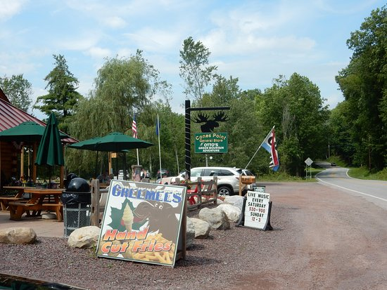 Otto's on Route 30S in Poultney, Vt.