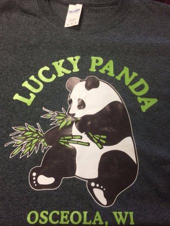 Osceola, WI: Lucky Panda T-Shirts