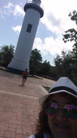 El Faro Lighthouse: Us at the Faro