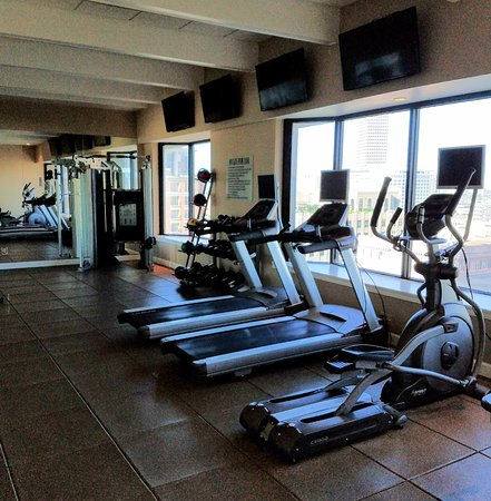 Work out area. Very large and well equipped.