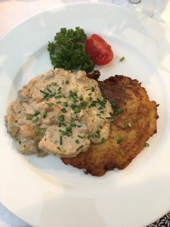 Restauracja Miód Malina: Potato Pancakes