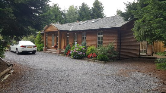 Little Budworth, UK: The Hollies Forest Lodges