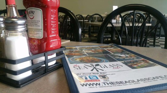 Sea Glass Cafe: Our new & improved menu