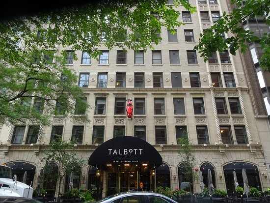 Hotel exterior picture of the talbott hotel chicago for Talbott hotel chicago