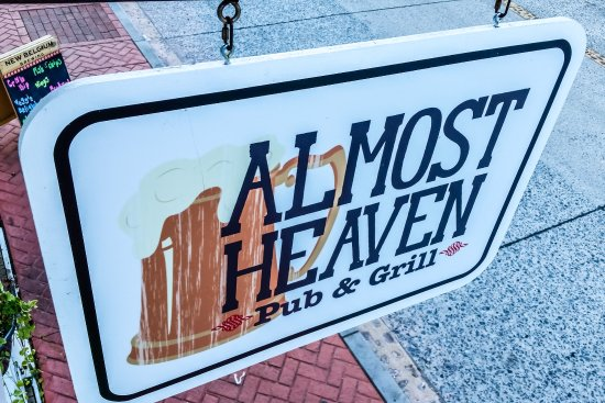 Almost Heaven Pub And Grill, Harpers Ferry - Menu, Prices ...