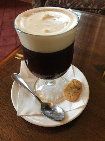 The Malton Hotel: Afternoon Irish coffee