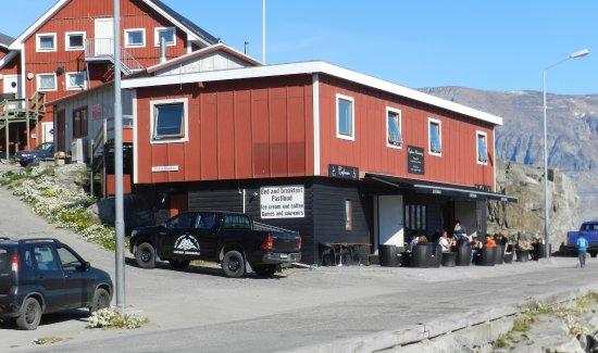 Uummannaq, Greenland: Cafemma, August 2017
